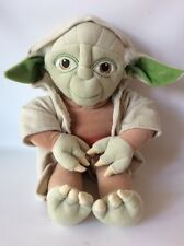 """Star Wars Yoda Pillow Pal Plush Large Toy 19"""" Lucasfilm Excellent!"""