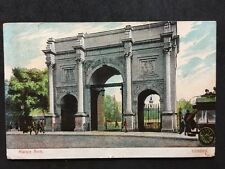 RP Vintage Postcard - London #MA6 - Marble Arch - 1908 Coloured
