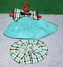 """Vintage 8"""" Vogue Ginny Doll - Original 1950's Dress Tagged Outfit"""
