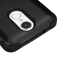 For LG ARISTO MS210 / LV3 - Hybrid High Impact Armor Protective Phone Case Cover