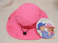 NEW GIRLS SIZE TODDLER-10 YEARS OLD FLOPPY SAFARI HAT SUN PROTECTION UPF50 PINK