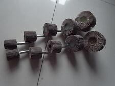 Schleifstifte Fächerschleifer 6 mm Schaft 10 Stück Korn 80 ETFS-SET-80