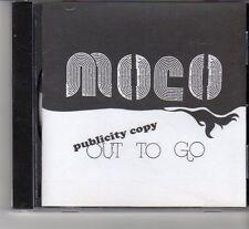 (FR485) MoCo, Out To Go - DJ CD