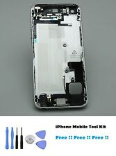 iPhone 5 Silver Replacement Housing Back Cover Case inner parts & Free Tool Kit