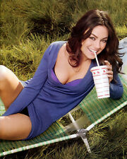 MILA KUNIS 8X10 PHOTO PIC PICTURE HOT SEXY SMILE BRA AND PANTIES TEASE 105