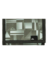 QUIKSILVER MENS WALLET.NEW EVERYDAY VELCRO MONEY/NOTE/COIN PURSE 7S/3468/KVJ9
