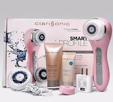 PINK- CLARISONIC SMART PROFILE 4 SPEED Face & Body Sonic Cleansing System Kit