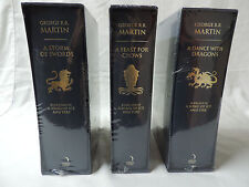 A Song of Ice and Fire Books - Harper Voyager Slipcase 1st Print - Brand New