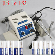 Dental Lab MARATHON 35K RPM Handpiece Electric Micromotor Polisher + Drill *10