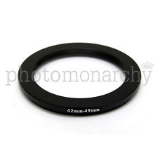 Anello STEP-DOWN adattatore da 62mm a 49mm filtro - STEP DOWN adapter ring 62 49