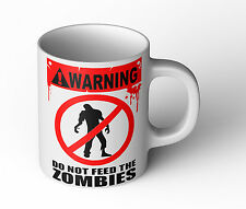 Zombie Tasse Do not feed the Zombies Fun Cup Kult Dead Becher killer