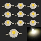 10x 50x 1Watt High Power Warm White 3500K Light LED Beads Lamp 80~110LM DIY NEW