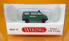 Wiking 093507 Volkswagen VW T4 Bus Polizei - Maßstab/Scale: 1:160