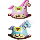 1pcs Baby Shower Foil Balloons Hobbyhorse Helium Foil Balloons Party Decoration