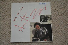 ANTHONY POWELL signed Autogramm ALBUMBLATT THOMAS GOTTSCHALK Co Star 80er rar!!
