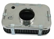 Air-Cooled VW Stock Style Rectangular Air Cleaner, Clamp On