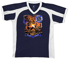 First In Last Out Fire Department Firefighter Hero Truck  Retro Sport T-shirt