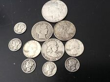 90% junk silver Lot of 90% Silver Coins 3.50$ face * oldies** 1922 peace dollar!