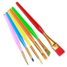 6pcs Kitchen Cake Icing Decorating Painting Brushes Fondant Sugarcraft Tools 6L