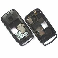 100% Genuine Nokia C2-02 rear chassis housing+loud speaker+camera glass+sim tray