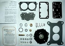 "1969 71 ""SUPER"" MOPAR SIX PACK REBUILD KIT- ALL HOLLEY 2300 SERIES END CARBS NEW"