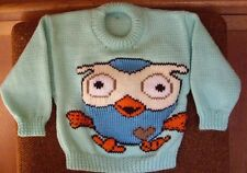 ORDER!!!!!   HOOT OWL..NEW SIZE 1   HANDKNITTED
