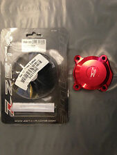 HONDA CRF 250 L CRF250 L  2012-2016   ZETA OIL FILTER COVER RED