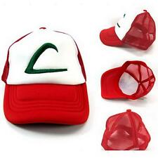 Pokemon Ash Ketchum Hat Cap For Kids Child Gift Free Shipping