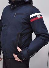 Giubbino uomo moncler usato men jacket blu neve cappuccio snow cap moncler used