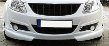 SPORTS BLACK DEBADGED GRILL FOR VAUXHALL CORSA D 10/2006-10/2010 MODEL