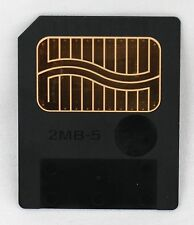 Genuine FujiFilm 2MB 5V SmartMedia SM Memory Card For Roland Korg Synth MG-2