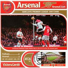 Arsenal 2007-08 Fulham (Emmanuel Adebayor) Football Stamp Victory Card #726
