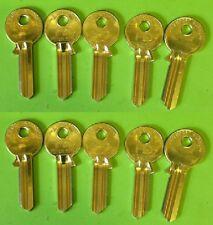 10 Universal UL1, U5D, UNL5 Key Blanks * Premium De Latón * sin cortar (H2B) # G