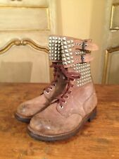 French RANGER 50's Foreign Legion J Toffart Military Boots Mens 8 Brooklyn NY