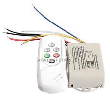 Wireless 3 Ways On/Off Digital Remote-Control Switch for LED Light 220-240V
