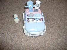 ME TO YOU TATTY TEDDY BLUE NOSE FRIENDS LITTLE BLUE MOTOR CAR AND FIVE BLUE NOSE