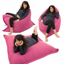 Giant Bean bag 4 in 1 Floor Cushion Chair Bed Lounger BeanBag Kids Outdoor Gilda