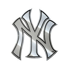 New York Yankees Heavy-Duty Metal Auto Emblem [NEW] NY MLB Chrome Car Decal CDG