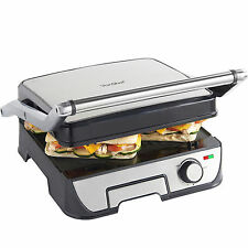 VonShef 2 in 1 Sandwich Panini Press Health Griddle Contact Grill Toastie Maker