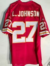 Reebok Authentic NFL Jersey Chiefs L. Johnson Red sz 56