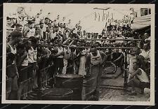 Panzerschiff Deutschland-guerra civil-matrosen-Sportfest Reede Alicante-33