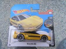 Hot Wheels 2017 #094/365 1990 ACURA NSX yellow Nightburnez
