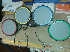 XBOX 360  * Official ROCK BAND Replacement 4 x Drum Pad Unit Part ROCKBAND DRUMS