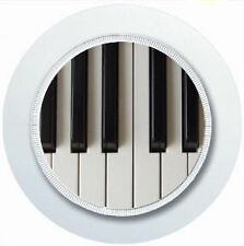 PIANO KEYBOARD CAR TAX DISC HOLDER REUSABLE