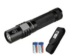 Fenix E35 UE 2016- 1000 Lumens LED Flashlight with 2x CR123A Batteries & Holster