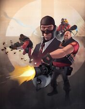 "Team Fortress 2 Game poster 17"" x 13"" Decor 26"