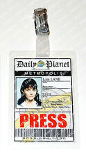 Superman Lois Lane ID Badge Press Pass Daily Planet Cosplay Costume Christmas
