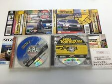 SEGA RALLY Championship and Touring Car Championship set Sega Saturn Japan D5480