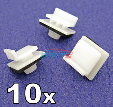 10x Side Skirt & Sill Moulding Trim Clips- Some Honda Civic & Jazz 91514SAA003