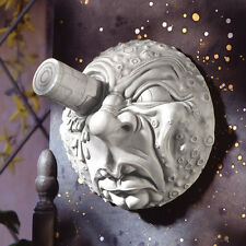 TRIP TO THE MOON WALL SCULPTURE DESIGN TOSCANO novelty  wall art  French